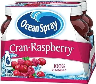 Ocean Spray Juice Drink, Cran-Raspberry, 6 Count (Pack of 4)