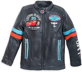 lightning mcqueen faux leather jacket