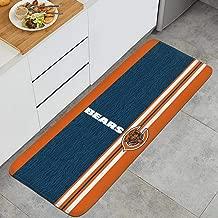 RegiDreae Non-Slip Kitchen Mat PVC Backing Indoor Outdoor Floor Mats Entry Way Doormat Bath Rug Doormat Runner Carpet 47.2