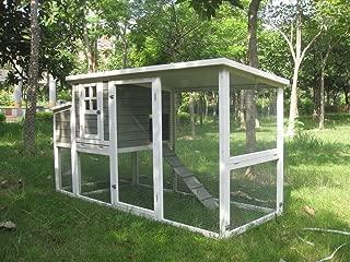 【アメリカINNOVATIONPET】 他ではほとんど見ないデザインの鳥小屋です。イノベーションペットCoops & Feathers® ウォークインバードケージ