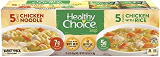 Healthy Choice Chicken Soup Variety-15 oz, 10 ct