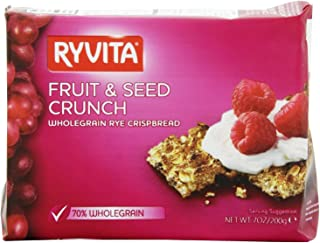 Ryvita Fruit and Seed Crunch Crispbreads, 7 Ounce (Pack of 8)