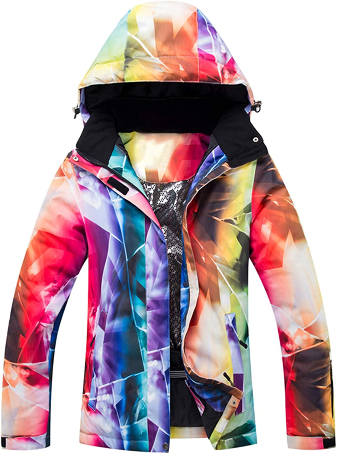 Ski Suit Women's Snowboard Jacket Windproof Waterproof And Warm Thick Coat Casual Fashion Wide-waisted Clothes