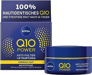 Nivea Q10Power anti-arrugas + la racionalización Noche Cuidado Para rejuvenecedora 8778556Crema Noche 2unidades (2x ...