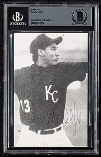 Earliest Known Derek Jeter Signed 1990 Kalamazoo High School Baseball Card BGS - Baseball Slabbed Autographed Cards
