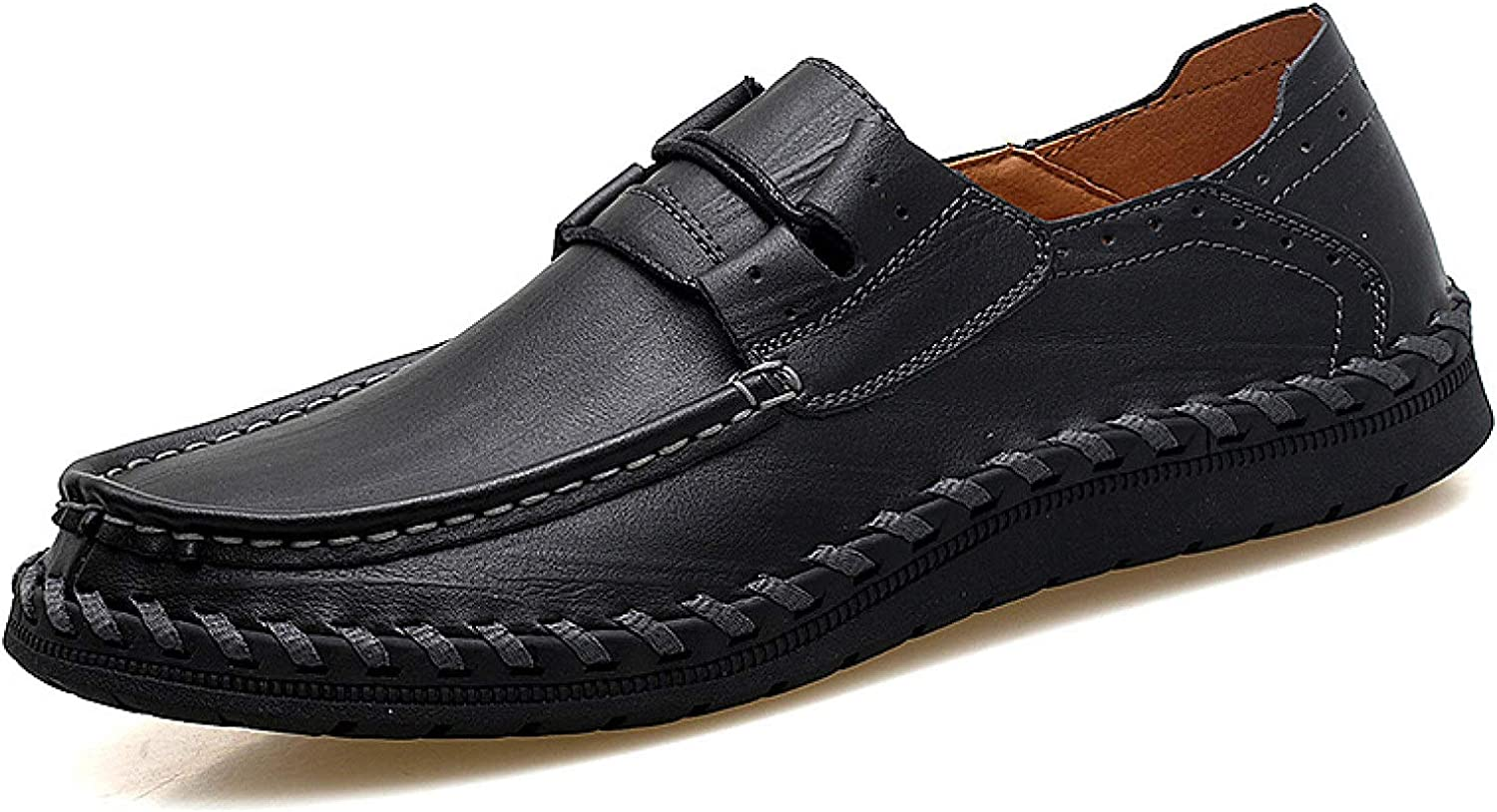 OTOSU Loafers for Men Comfortable Shoes Walking Business Penny Loafers Lightweight Durable