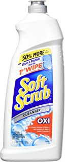 Soft Scrub Multi-Purpose Kitchen and Bathroom Cleanser with Oxi, 36 Ounce (Pack of 1)