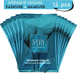 SARA SOUL OF BEAUTY Pedicure Manicure Intensive Cooling Kit for All Skin Type - Infused with Botanical Extracts for Soft, ...