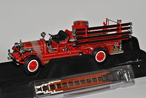Defektes Modell SeaGröße 1927 Rot Feuerwehr Signature 1 24 Yatming Modell Auto