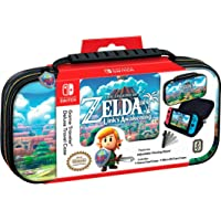 Nintendo Switch Zelda Link's Awakening Carrying Travel Case by RDS Industries (Multi Colors)
