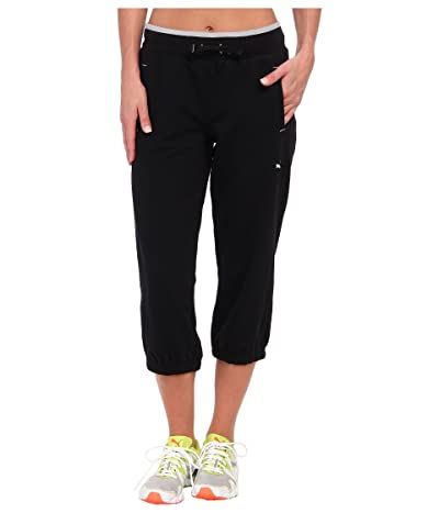 PUMA Sweat Capri (Black) Women