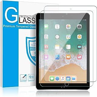 "[2 Pack] iPad 6th Generation/ iPad 9.7"" inch (2018/2017) / iPad Pro 9.7 / iPad Air/iPad Air 2 Screen Protector Glass,SMAPP Tempered Glass Screen Protector - Apple Pencil Compatible/Scratch Resistant"