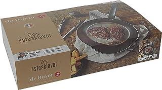 De Buyer 5610.03 Box #STEAKLOVER : Mineral B 26+SPATULE+Moulin