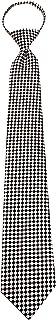 Sponsored Ad - ZIP-12601 - Mens Black Zipper Pre-made Fashion Zipper Necktie Ties