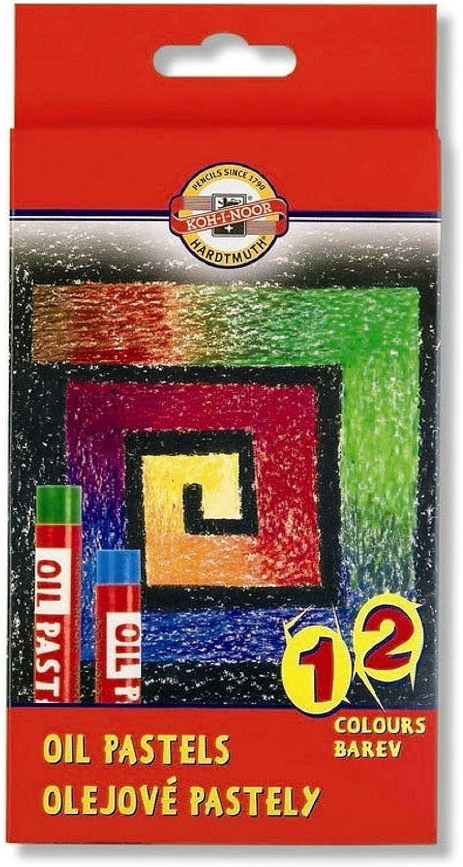El Paso Mall KOH-I-NOOR Oil Chalks Pack 12 of New item