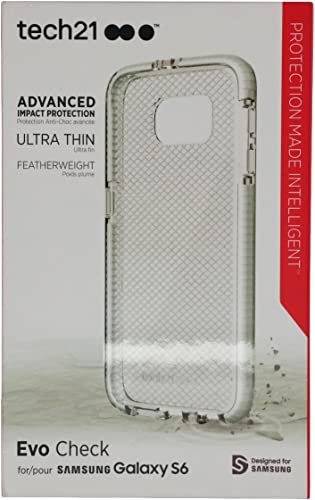 lowest Tech21 sale Evo Check Flex Impact Cover Case For Samsung Galaxy high quality S6 (Clear) sale