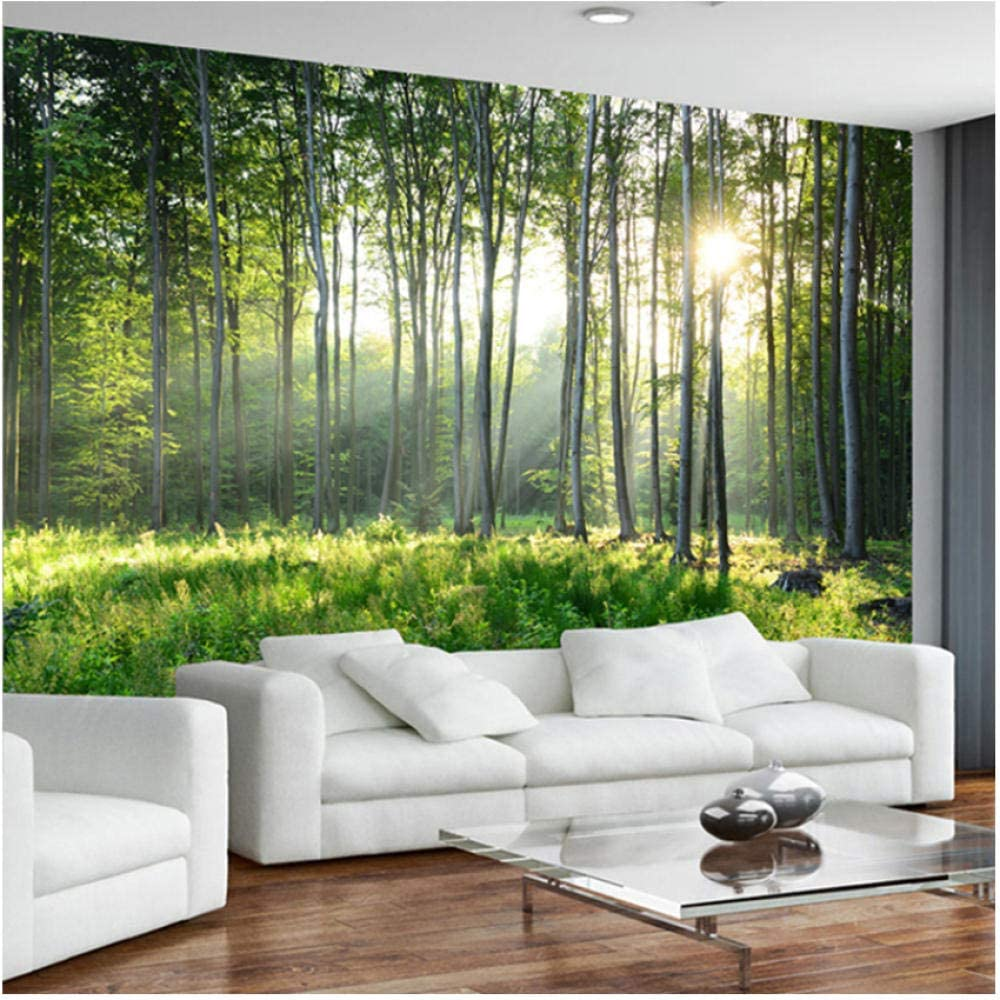 N A Decorative Sale SALE% OFF Mural- OFFicial mail order Wallpaper Scenery Forest Nature Mur Green