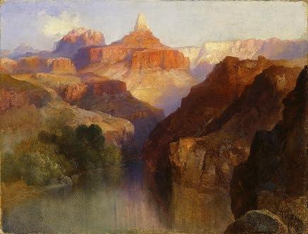Spiffing Prints Thomas Moran - Zoroaster Peak (1918) - Extra Large - Matte Print
