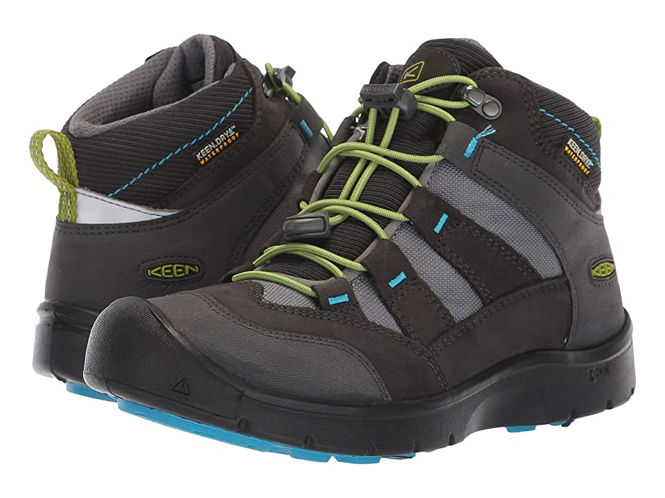 Keen Kids Hikeport Mid WP (Little Kid/Big Kid) (Magnet/Greenery) Boys Shoes