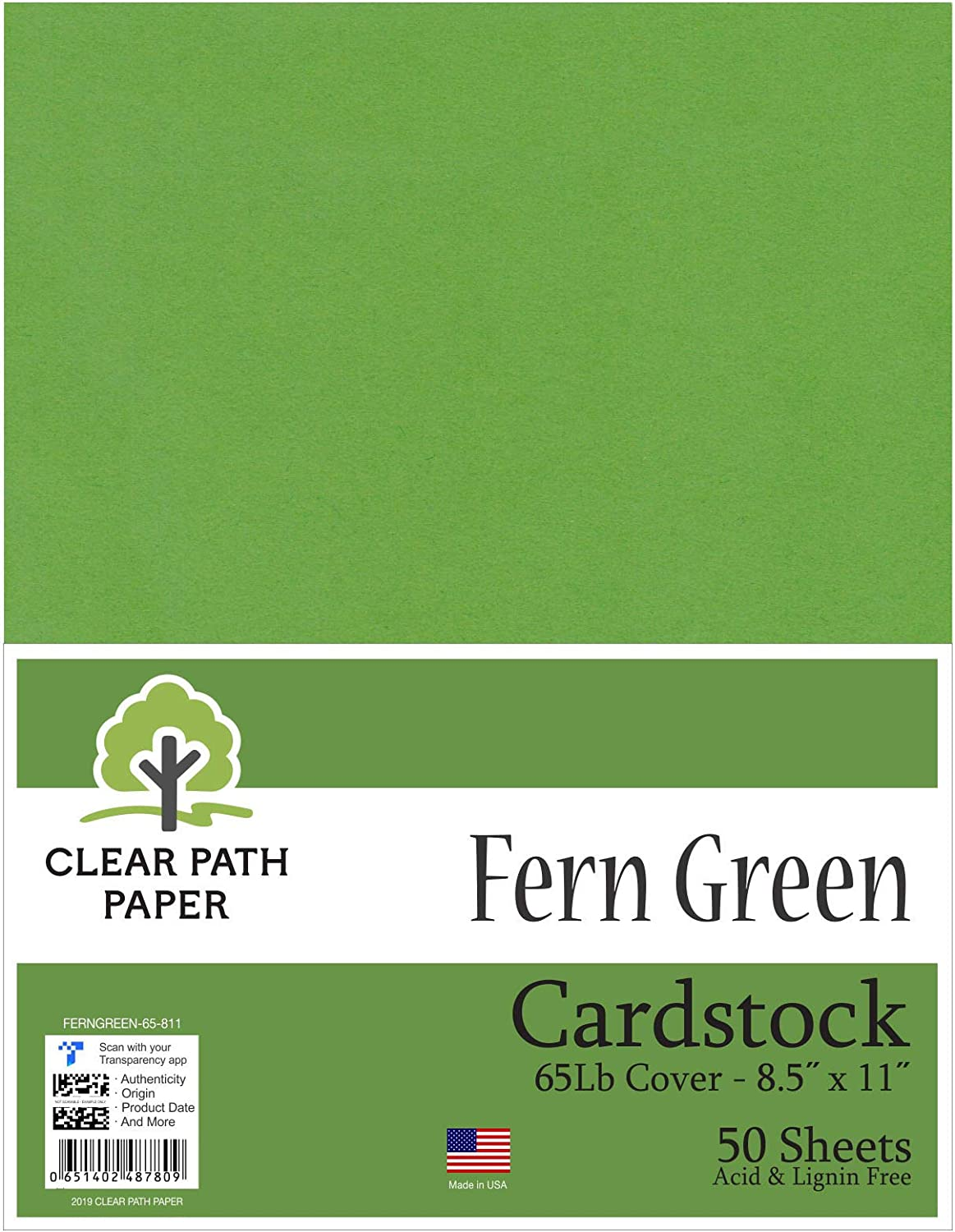 Topics on TV Fern Green Cardstock - 8.5 x Cover Sheets Excellent 50 inch 11 65Lb