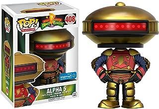 Funko Alpha 5 (Walmart Exclusive) POP! TV x Power Rangers Vinyl Figure + 1 Free Official Japanese Super Sentai Trading Card Bundle (11200)