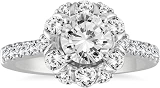 Best 3 carat halo diamond ring Reviews