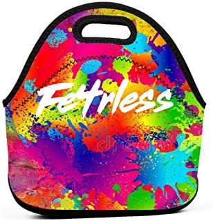 Lunch Bag Fe4R-Less-Game Reusable Waterproof Lunch Bag For Womens Men Kids