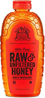 Nature Nate's 100% Pure Raw and Unfiltered Honey 44 oz. (pack of 3) A1