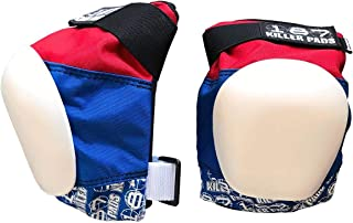 187 Killer Pads Pro Knee Pads - Red / White / Blue - X-Small
