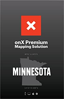 ONX Hunt: Minnesota Hunt Chip for Garmin GPS - Hunting Maps with Public & Private Land Ownership - Hunting Units - Includes Premium Membership Hunting App for iPhone, Android & Web