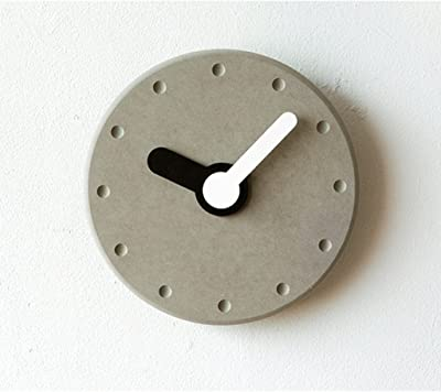 wall clock Watch Wall Clock Modern Creative Fashion Personality Wall Charts 8-inch Bedroom Mute