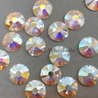 144 Swarovski 2000 3ss 1.5mm crystal flatback rhinestones ss3 CRYSTAL AB F