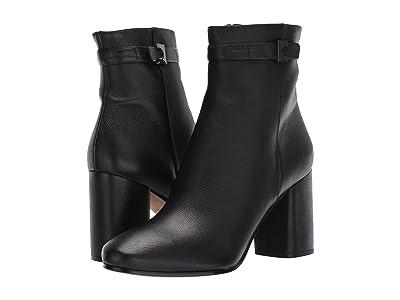 Diane von Furstenberg Rhonda (Black Smooth Leather) Women