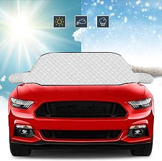 ROCONTRIP Auto Windschutzscheibe Frostschutz, Windschutzscheibe Cover Protector wasserdicht Anti Frost Schnee Sonnenschutz (93'' * 41'')