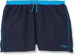 BOSS Mens Starfish Plus Quick-Dry Swim Shorts with Logo
