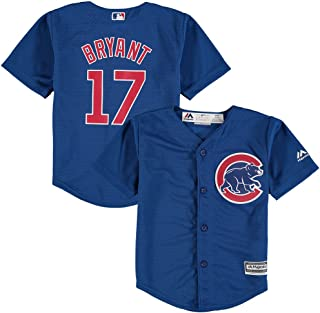 Majestic Kris Bryant Chicago Cool Base Blue Alternate Infant/Baby Replica Jersey