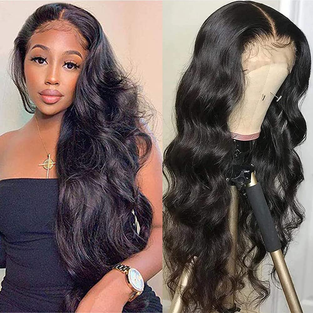 NOBILITY Hair Max 84% OFF Brazilian 10A Body Max 83% OFF Front Wave Human Lace Wigs