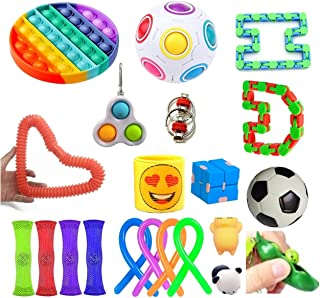 Legend Sensory Fidget Toys Set Stress Relief and Adult Anxiety Relief, 21 Figetget Fidgeting Toys Pack