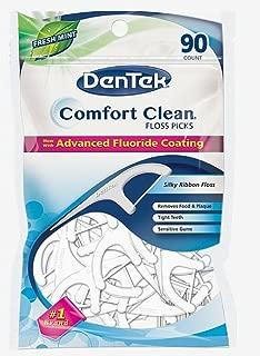DenTek Comfort Clean Silk Floss Picks 90 Each (Pack of 5)