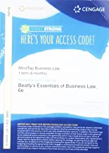 MindTap Business Law, 1 term (6 months) Printed Access Card for Beatty/Samuelson/Abril's Essentials of Business Law, 6th