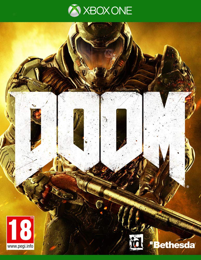 Bethesda DOOM, Xbox One vídeo - Juego (Xbox One, Xbox One, FPS ...