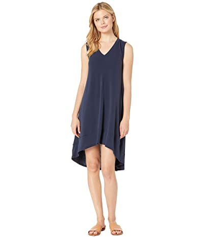 Nally & Millie French Terry High-Low Tank Dress (Ink) Women