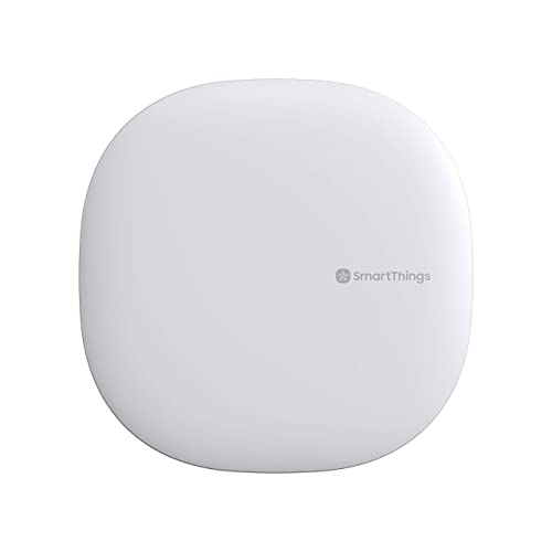 Samsung GP-U999SJVLGEA SmartThings Hub, 3rd Generation, Compatible with Alexa and Google Assistant, Zigbee, Z-Wave and Wi-Fi