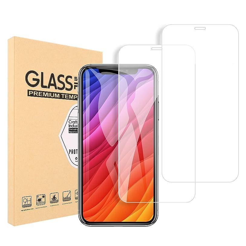 痴漢成長する新しさiPhone XS ガラスフイルム iPhone X 強化ガラス 業界最高硬度9H/99%透過率/3D Touch対応/自動吸着/気泡ゼロ アイフォン XS/X 液晶保護フイルム 5.8インチ(2枚セット 透明)