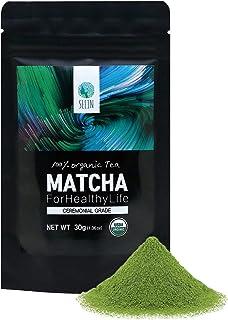 SEEIN Organic Matcha Ceremonial Grade 30g - Authentic Korean Premium Green Tea Powder - 100% All Natural Pure Unsweetened...