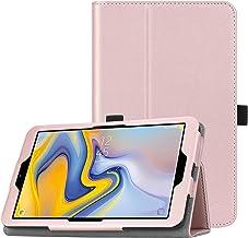 Fintie Folio Case for Samsung Galaxy Tab A 8.0 2018 Model SM-T387 Verizon/Sprint/T-Mobile/AT&T, Slim Fit Premium Vegan Lea...