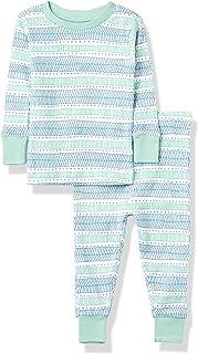 HonestBaby Baby Organic Cotton 2-Piece Snug Fit Pajama Set
