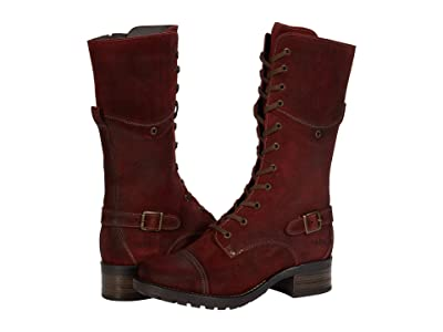 Taos Footwear Tall Crave (Garnet Rugged) Women