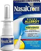 NasalCrom Nasal Spray Allergy Symptom Controller   200 Sprays   .88 FL OZ