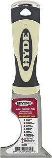 Hyde Tool 06992 2-1/2-Inch Stiff 6-In-1 Painter's Tool Multi-Tool